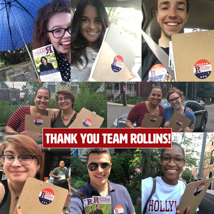 In the few past weeks, we've been putting boots on the ground daily throughout Suffolk County. We've knocked THOUSANDS of doors - no matter rain or shine! Rachael offers her deepest gratitude to our awesome volunteers, because without you, none of this would be possible.