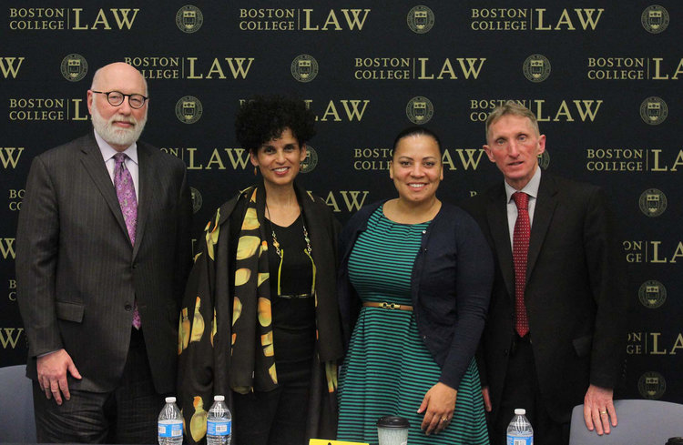 Rachael was featured on a panel hosted by Boston College's Black Law Students Association (BLSA).