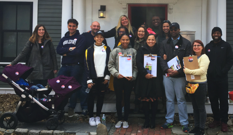 #RollingWithRollins Day of Action in Roxbury, Jamaica Plain, Chelsea, and Dorchester.